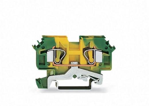 Schutzleiterklemme 8 mm Zugfeder Belegung: PE Grün-Gelb WAGO 282-607 50 St.