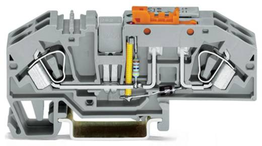 Trennklemme 16 mm Zugfeder Belegung: L Grau WAGO 282-639 12 St.