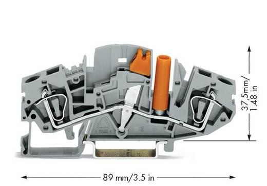 Trennklemme 8 mm Zugfeder Belegung: L Grau WAGO 282-811 20 St.
