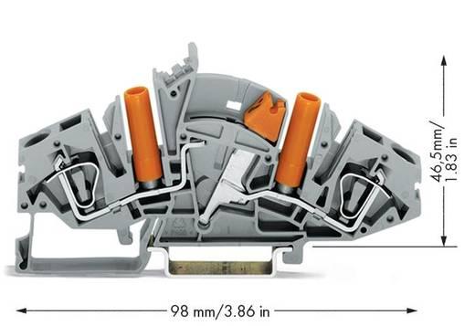 Trennklemme 8 mm Zugfeder Belegung: L Grau WAGO 282-821 20 St.