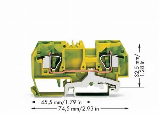 Schutzleiterklemme 8 mm Zugfeder Belegung: PE Grün-Gelb WAGO 282-907/999-950 50 St.