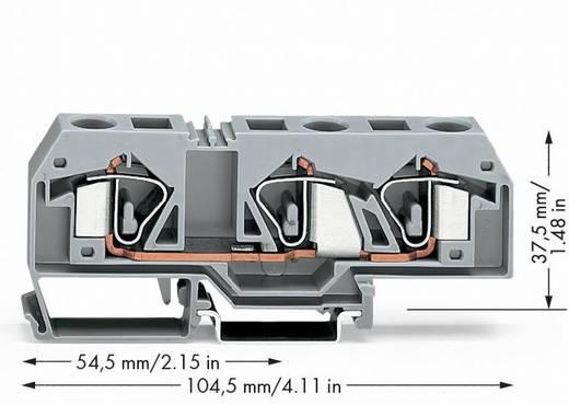 Durchgangsklemme 12 mm Zugfeder Belegung: L Grau WAGO 283-671 20 St.