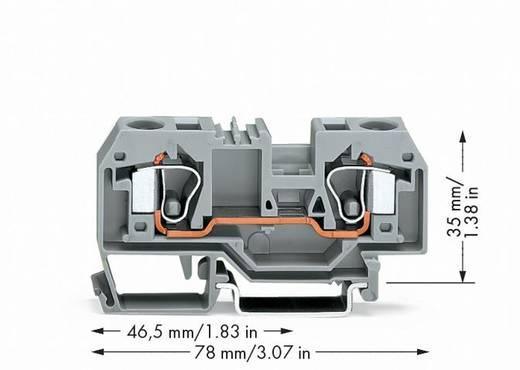 Durchgangsklemme 10 mm Zugfeder Belegung: L Grau WAGO 284-901 25 St.