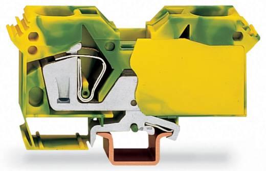 Schutzleiterklemme 16 mm Zugfeder Belegung: PE Grün-Gelb WAGO 285-607/999-950 15 St.