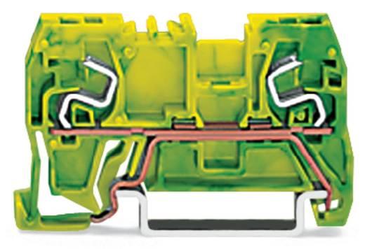 Schutzleiterklemme 5 mm Zugfeder Belegung: PE Grün-Gelb WAGO 290-967 100 St.
