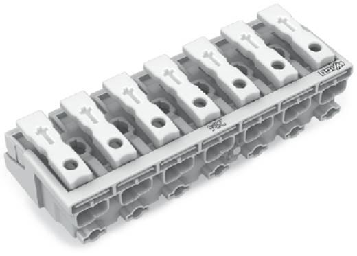 Netzanschlussklemme starr: 0.5-1.5 mm² Polzahl: 7 WAGO 200 St. Weiß