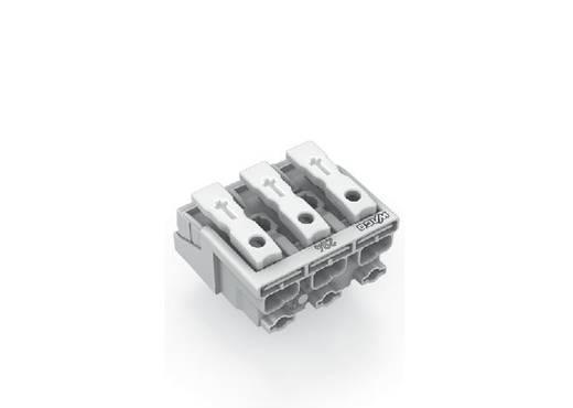 Netzanschlussklemme starr: 0.5-1.5 mm² Polzahl: 3 WAGO 294-5003 500 St. Weiß