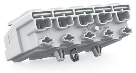 Netzanschlussklemme starr: 0.5-1.5 mm² Polzahl: 5 WAGO 294-5175 250 St. Weiß