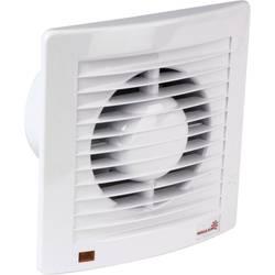 Vestavný ventilátor Wallair, 20110605, 230 V, 165 m3/h, 18 cm