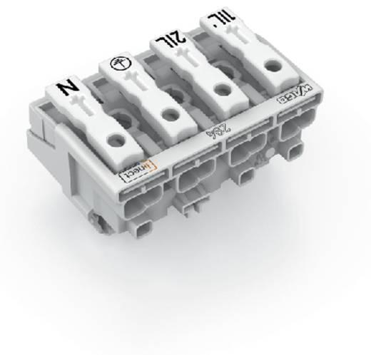 Netzanschlussklemme starr: 0.5-2.5 mm² Polzahl: 4 WAGO 500 St. Weiß