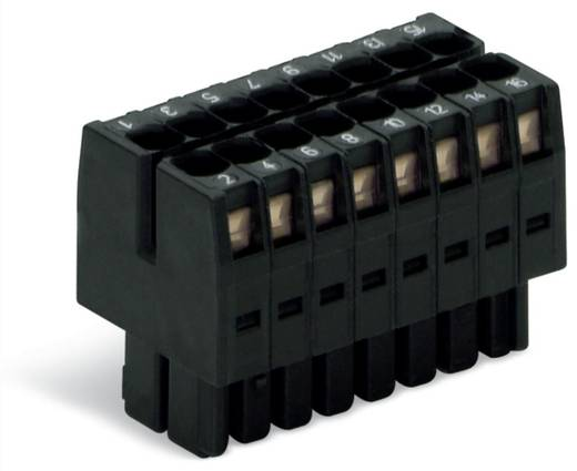 Buchsengehäuse-Kabel 713 Polzahl Gesamt 8 WAGO 713-1104/000-047 Rastermaß: 3.50 mm 50 St.