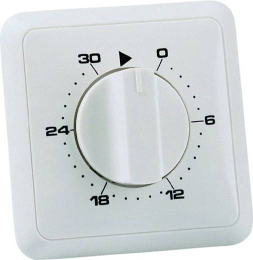 Unterputz-Timer analog Tagesprogramm 30 min Wallair 20100249 3680 W IP20 2polig