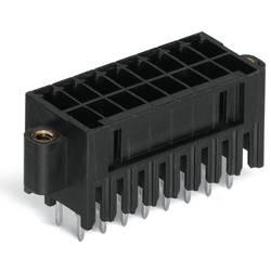 Pinová lišta (štandardná) WAGO 713-1403/117-000, 20.6 mm, pólů 6, rozteč 3.50 mm, 50 ks
