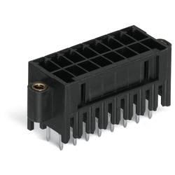 Pinová lišta (štandardná) WAGO 713-1464/107-000, 24.1 mm, pólů 8, rozteč 3.50 mm, 100 ks