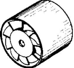 Ventilátor do potrubí Wallair 20100256 125 mm - Cata MT-125 - Cata MT-125