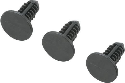 Platinenhalter Polyamid Abstandsmaß 12.5 mm KSS SR-0512BK 1 St.