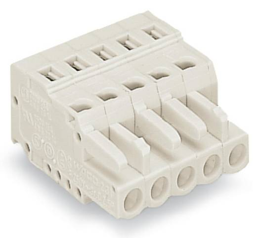 WAGO Buchsengehäuse-Kabel 721 Polzahl Gesamt 3 Rastermaß: 5 mm 721-103/026-037 100 St.