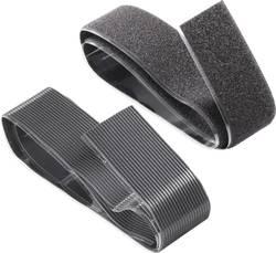 klettband zum aufkleben haft und flauschteil extrastark l x b 100 mm x 50 mm schwarz tesa on. Black Bedroom Furniture Sets. Home Design Ideas