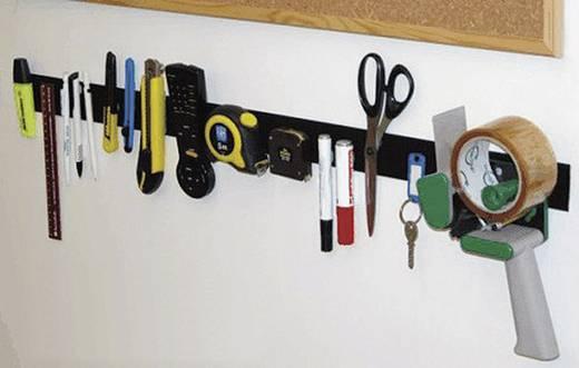 Klettband zum Aufkleben Haft- und Flauschteil (L x B) 500 mm x 50 mm Schwarz Fastech 919-9999C 1 Paar