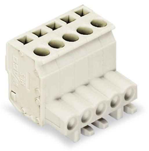 WAGO Buchsengehäuse-Kabel 722 Polzahl Gesamt 5 Rastermaß: 5 mm 722-105/026-000 100 St.
