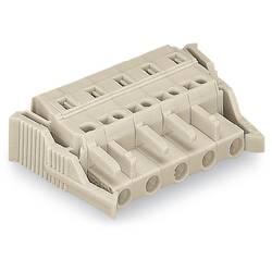 Zásuvkové púzdro na kábel WAGO 721-2106/037-045, 46.55 mm, pólů 6, rozteč 5 mm, 50 ks