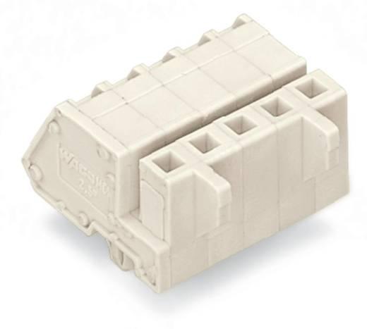 WAGO Buchsengehäuse-Kabel 721 Polzahl Gesamt 10 Rastermaß: 5 mm 721-310/008-000 50 St.