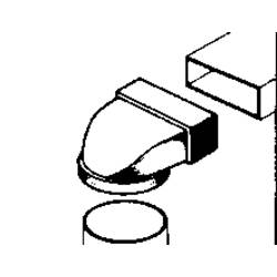 Image of Wallair 20200114 Flachkanal-Lüftungssystem 100 Umlenkstück