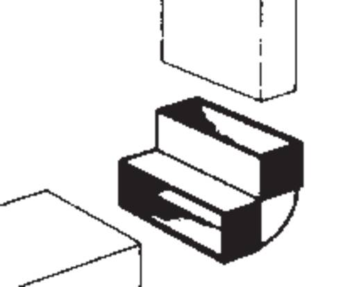 Flachkanal-Lüftungssystem 100 Umlenkbogen Wallair 20200113
