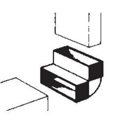 Image of Wallair 20200113 Flachkanal-Lüftungssystem 100 Umlenkbogen