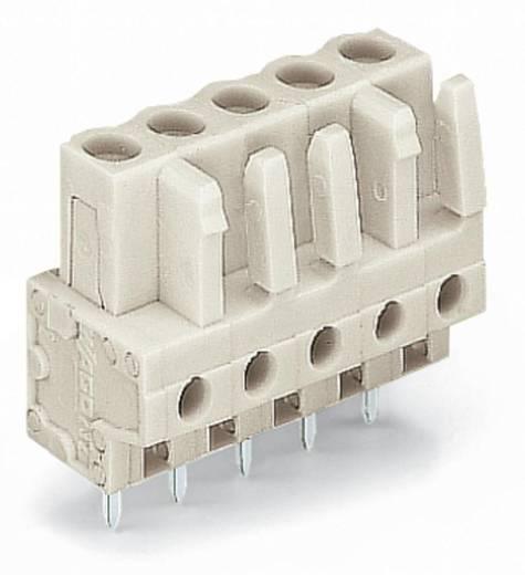 WAGO Buchsengehäuse-Platine 722 Polzahl Gesamt 20 Rastermaß: 5 mm 722-150 10 St.