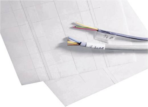 Kabel-Etikett BKM 38 x 23 mm Farbe Beschriftungsfeld: Weiß TE Connectivity 5-1768016-4 5-1768016-4 Anzahl Etiketten: 40
