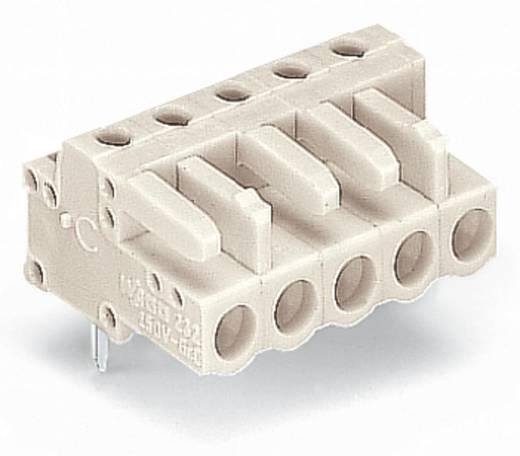 WAGO Buchsengehäuse-Platine 722 Polzahl Gesamt 10 Rastermaß: 5 mm 722-240 50 St.