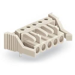 Zásuvkové puzdro na dosku WAGO 722-246/039-000, 95.80 mm, pólů 16, rozteč 5 mm, 10 ks