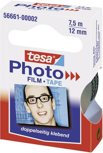tesa Foto® Film Ersatzrolle (L x B) 7.5 m x 12 mm Transparent 56661-00002-00 tesa Inhalt: 1 Rolle(n)