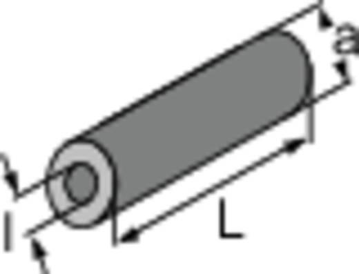 Distanzring Messing Abstandsmaß 8 mm TOOLCRAFT 1 St.
