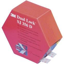 Lepicí pásek se suchým zipem 3M SJ 356D Dual Lock 7000070525, (d x š) 5000 mm x 25 mm, průsvitná, 1 pár