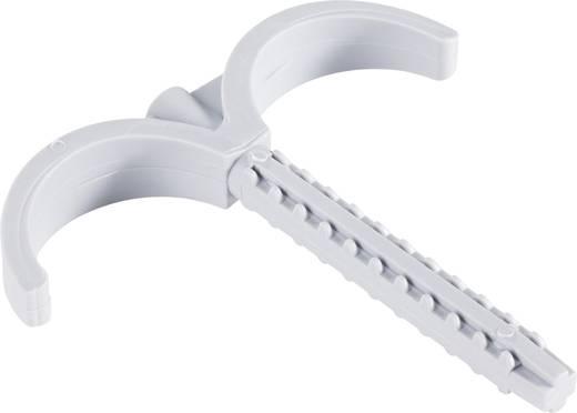 Kabelhalter für Steckmontage im Mauerwerk, halogenfrei , silikonfrei, UV-stabilisiert Hell-Grau 743131 1 St.