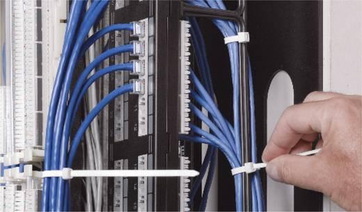 Kabelbinder 282 mm Schwarz von Hand abreißbar, UV-stabilisiert, Witterungsstabil ABB DK-510BK 50 St.