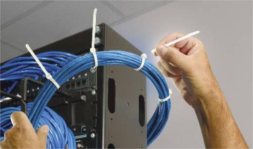 Kabelbinder 358 mm Schwarz von Hand abreißbar, UV-stabilisiert, Witterungsstabil ABB DK-760BK TT-14-30-0-L-EU 50 St.