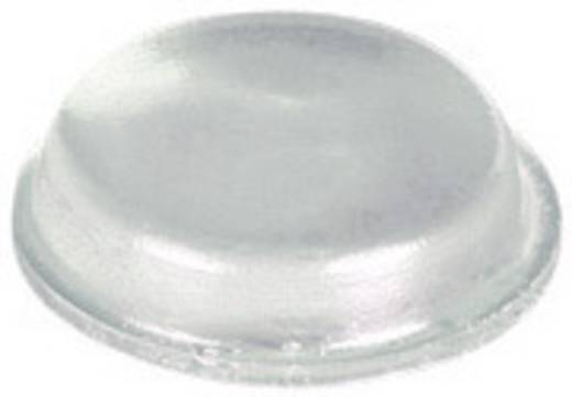 Gerätefuß selbstklebend, rund Klar (Ø x H) 12.7 mm x 3.5 mm PB Fastener BS-01-CL-R-10 10 St.