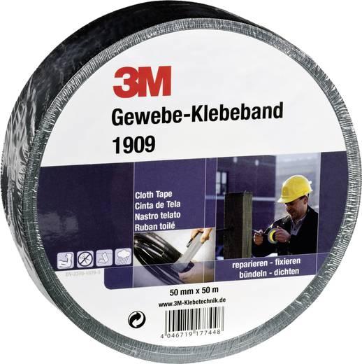 Gewebeklebeband 1909 Schwarz (L x B) 50 m x 50 mm 3M 7000061483 1 Rolle(n)