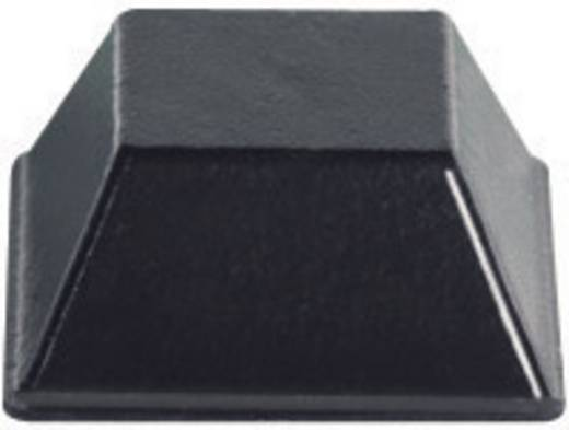 Gerätefüße selbstklebend, quadratisch Schwarz (B x H) 12.7 mm x 5.8 mm PB Fastener BS-03-BK-R-10 10 St.