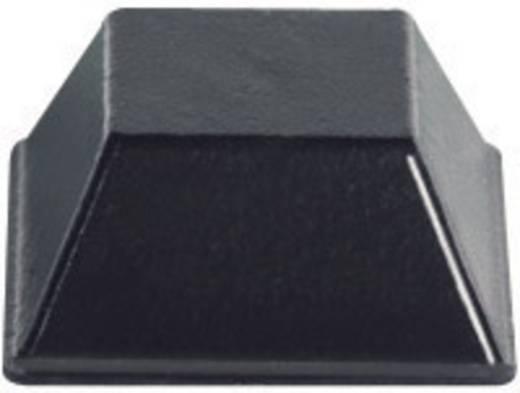 Gerätefuß selbstklebend, quadratisch Klar (B x H) 12.7 mm x 5.8 mm PB Fastener BS-03-CL-R-10 10 St.