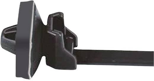 Kabelbinder 158 mm Schwarz mit Spreizanker am Teller gedichtet, Hitzestabilisiert HellermannTyton 156-00264 T50SOSSFT6,5