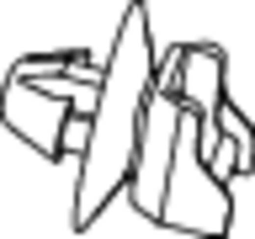 Kabelbinder 200 mm Schwarz mit Spreitzanker am Teller gedichtet, Hitzestabilisiert HellermannTyton 156-00379 T50XROSSFT6