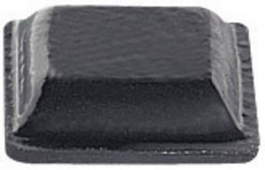 Gerätefuß selbstklebend, quadratisch Schwarz (B x H) 10.2 mm x 2.5 mm PB Fastener BS-20-BK-R-11 11 St.