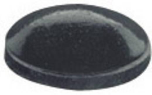 Gerätefuß selbstklebend, rund Schwarz (Ø x H) 7.9 mm x 2.2 mm PB Fastener BS-27-BK-R-5 5 St.