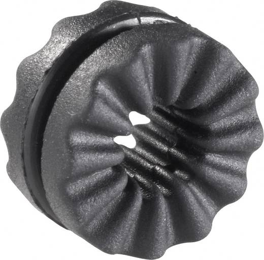 Anti-Vibrationstülle Klemm-Ø (max.) 4.8 mm Schwarz Richco VG-4 1 St.