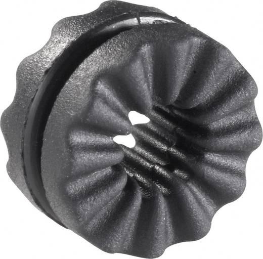 Richco VG-1 Anti-Vibrationstülle Klemm-Ø (max.) 4 mm Schwarz 1 St.