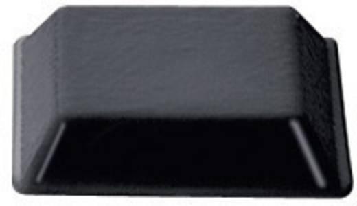 Gerätefuß selbstklebend, quadratisch Schwarz (B x H) 12.7 mm x 3 mm PB Fastener BS-32-BK-R-10 10 St.